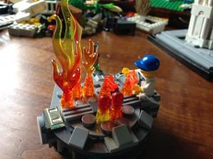 Lego Hibachi Grill